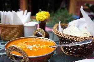Restaurant Taj am Campeon mit leckeren indischen und internationallen Essenin Unterhaching.